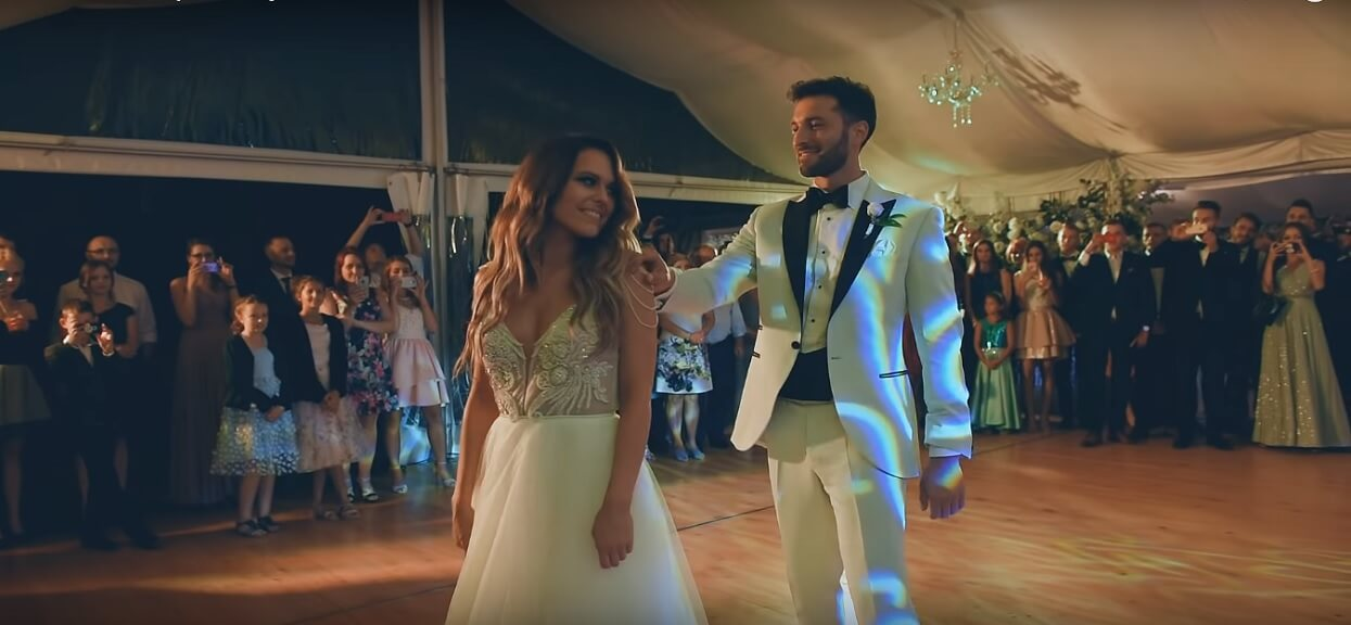 Żona mistera Polski Rafała Maślaka załamała się na weselu. To co powiedziała mężowi rozrywa serca