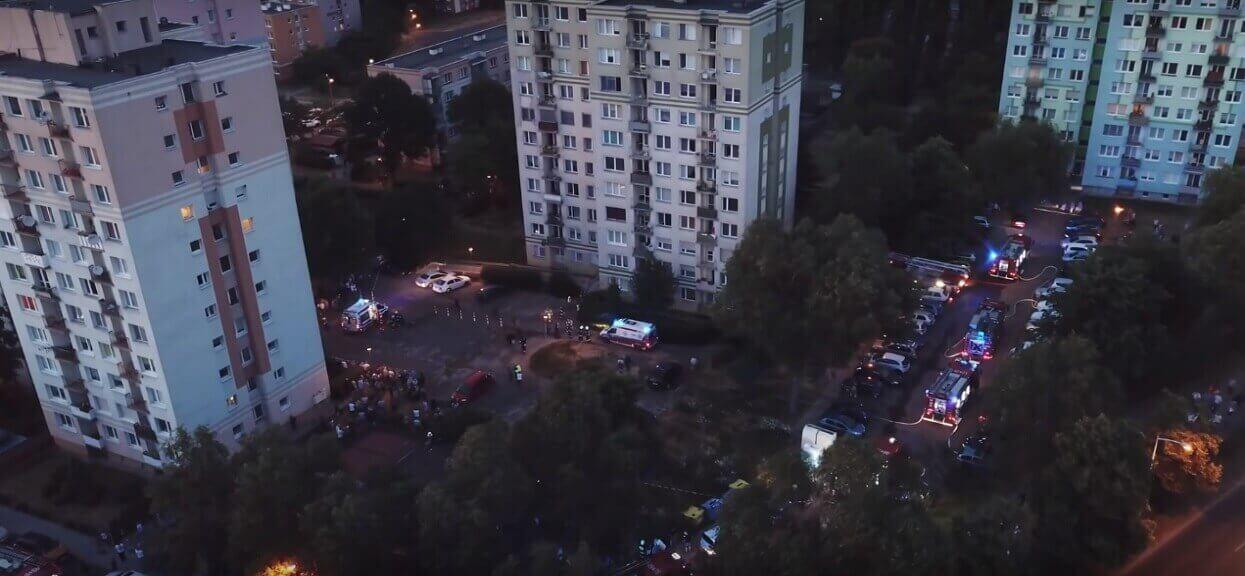 Potężny wybuch gazu w zachodniej Polsce. Przerażające informacje TVP: Wieżowiec zajął się ogniem