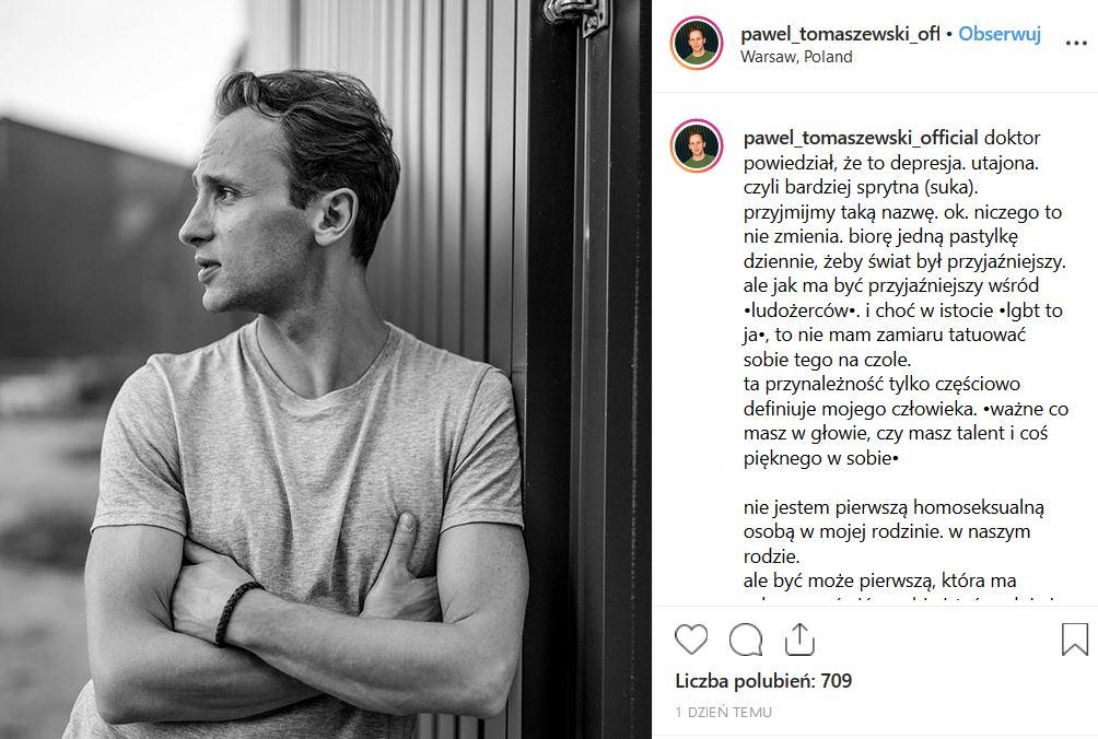 Polsat screen instagram.com/pawel_tomaszewski_official