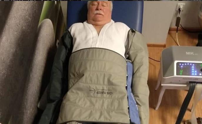 Lech Wałęsa ostro wziął się za odchudzanie, a teraz pokazał zdumiewające zdjęcie. Jest chudy jak patyk!