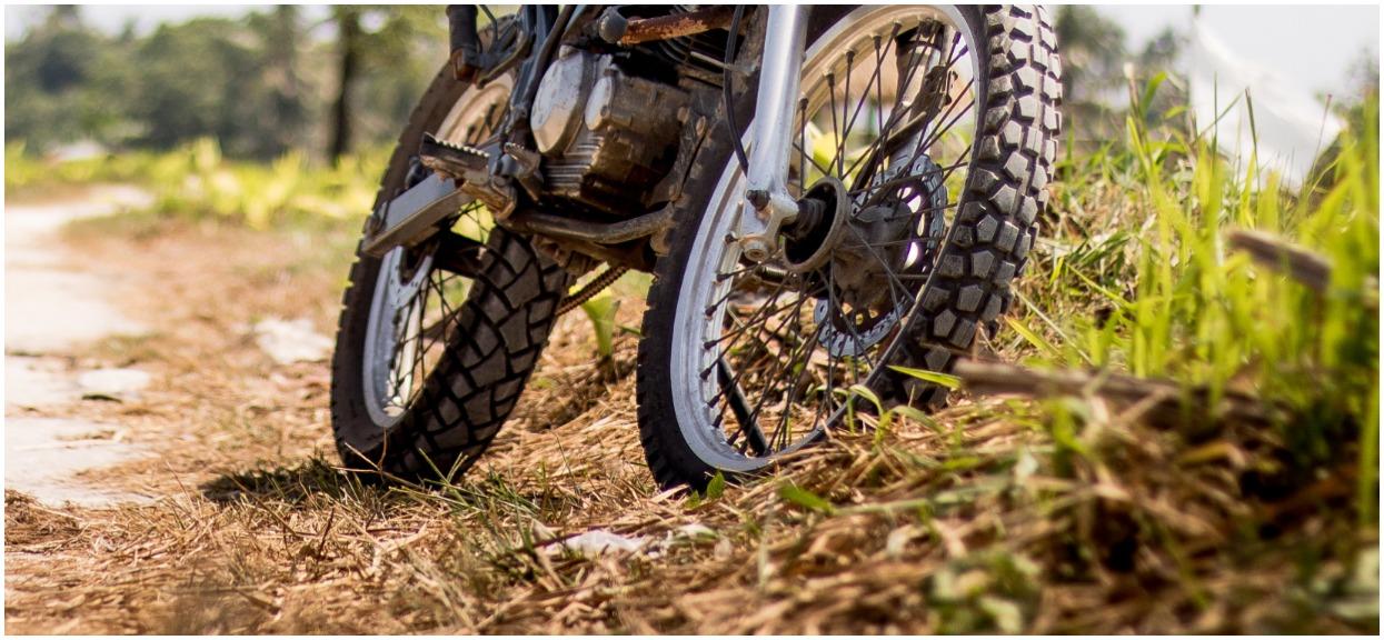 Tragedia w Wielkopolsce. 14-latek na motocyklu uderzył w drzewo, nie przeżył