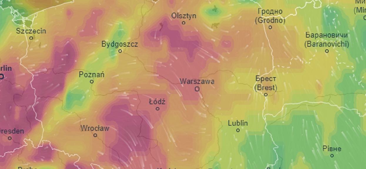 Niestety, lada chwila nad Polską zetknie się afrykański żar z chłodem. Poważne ostrzeżenia przed trąbami powietrznymi dla kilku województw