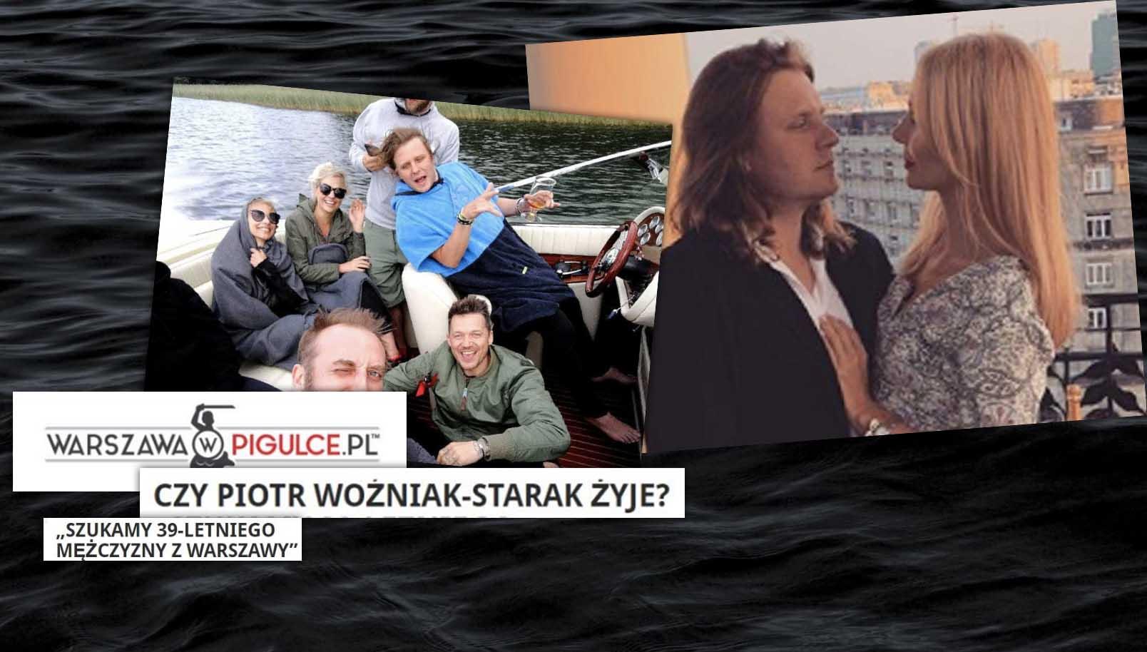 Najnowsze wiadomości. Polski portal ma wątpliwości, czy Piotr Woźniak-Starak jeszcze żyje