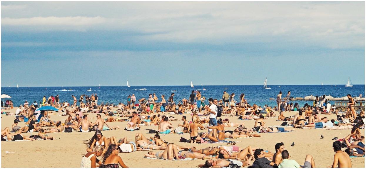 Przechodzi ludzkie pojęcie co turyści wyciągnęli z morza. Szybko wokół zgromadził się tłum