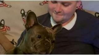25-latek przegrał walkę z nowotworem. Chwilę po śmierci, z jego ukochanym psem stało się coś niewyobrażalnego