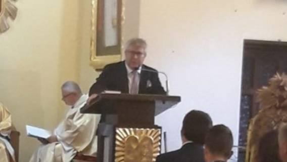 Ryszard Czarnecki zamiast księdza