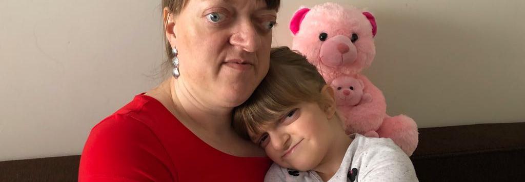 Dramat niewidomej Ewy i jej chorej 7-letniej córki. Niedługo zostaną bez dachu nad głową