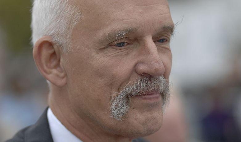 Janusz Korwin-Mikke nie zna umiaru. Na liście wyborczej umieścił prawie samych członków swojej rodziny