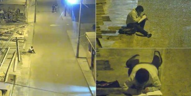 Mały chłopiec odrabiał lekcje przy świetle ulicznych latarni. Zobaczył to mężczyzna z drugiego końca świata i natychmiast zareagował
