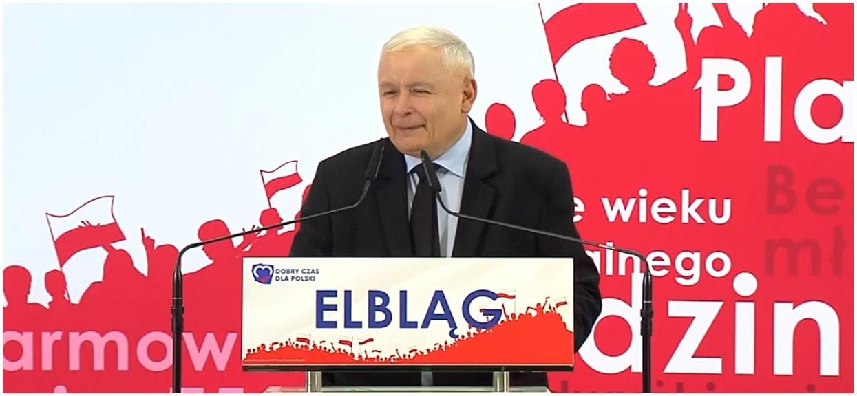 """""""Kaczyński chce powrotu do PRL-u"""". Przemówienie prezesa PiS rozłożone na czynniki pierwsze"""