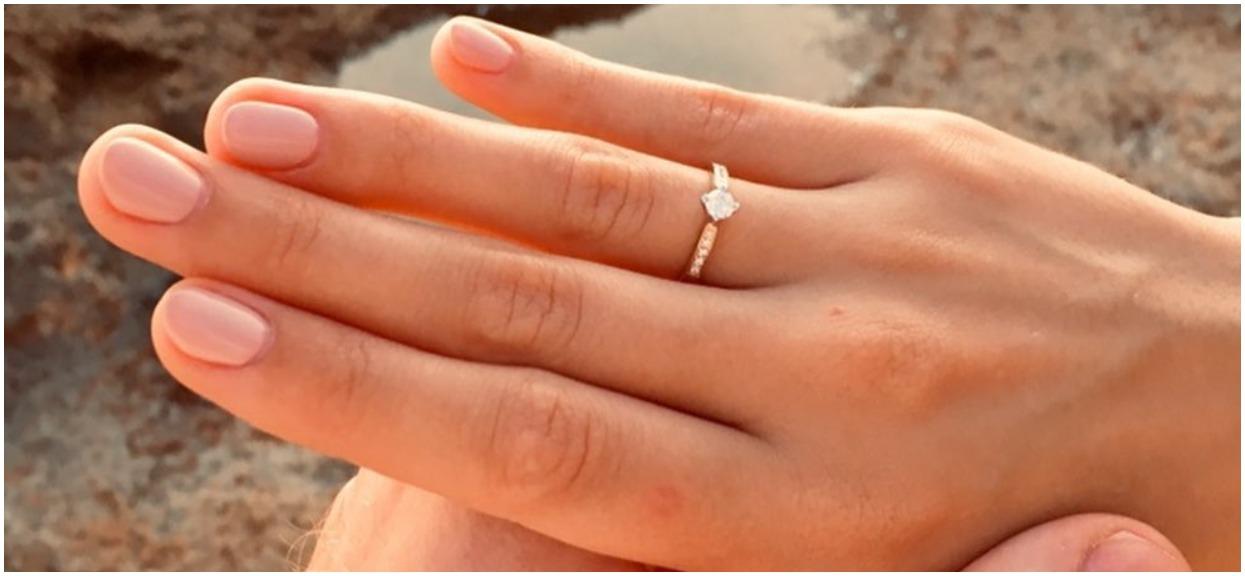 """Radosne informacje, Kaczyńska właśnie się zaręczyła. W sieci pojawiło się zdjęcie niebywałego pierścionka, a fani gratulują gwieździe hitowego programu """"Top Model"""""""