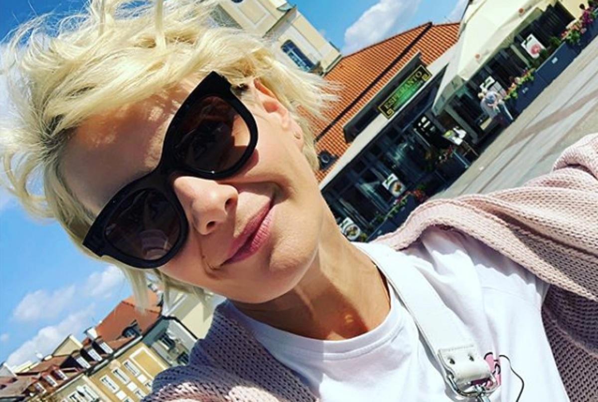 Zdjęcie Małgorzaty Kożuchowskiej z czasu studiów w sieci. Co ona tam pije?!