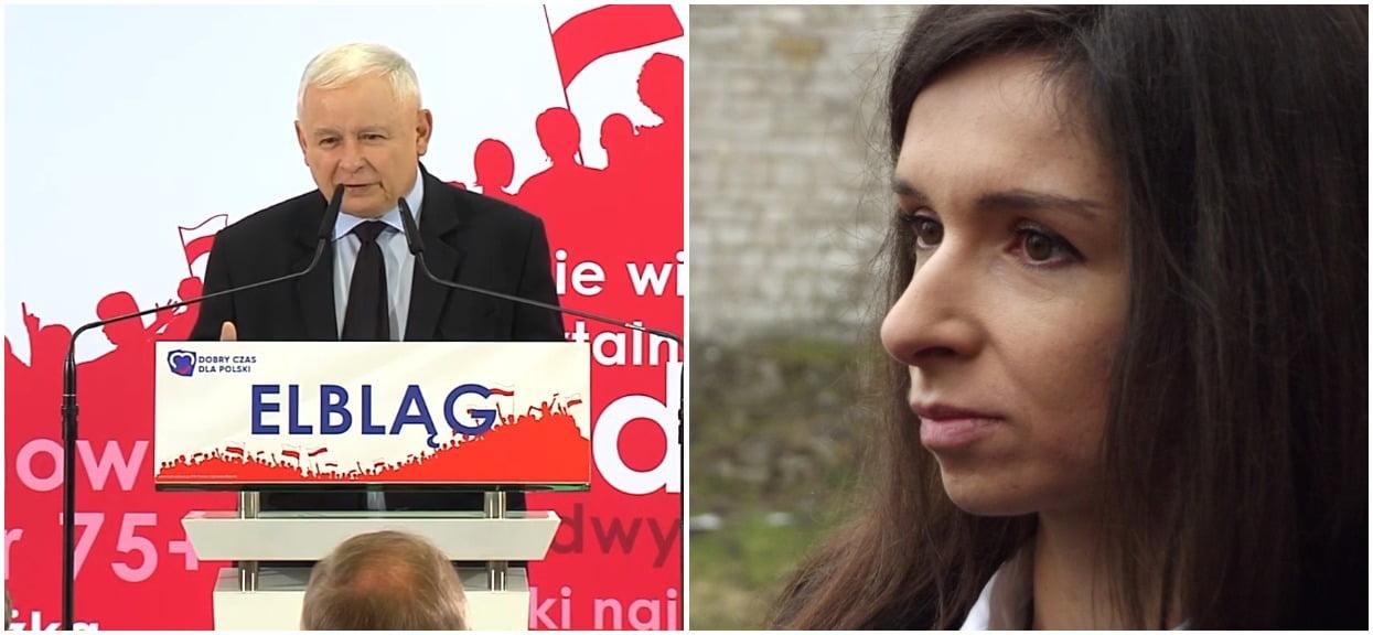 Jarosław Kaczyński przypadkiem publicznie poniżył Martę Kaczyńską? Chodzi o jej mężów