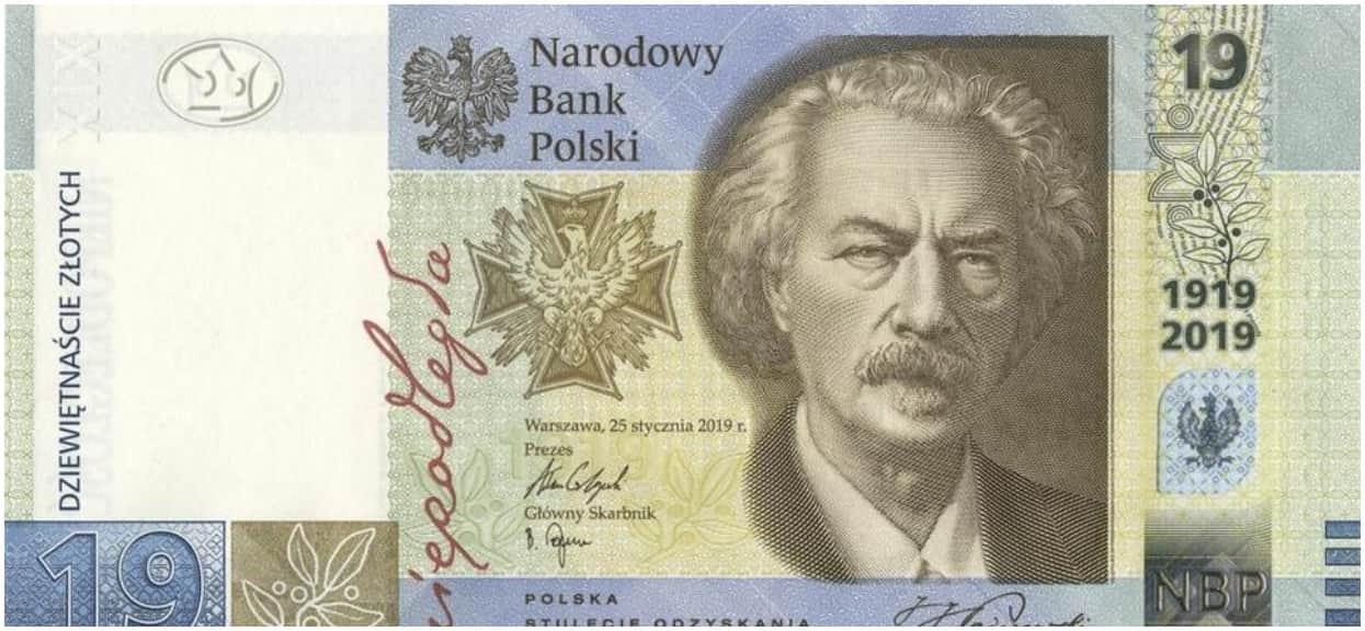 Do obrotu w Polsce wchodzi nowy banknot o nominale 19 zł. Powód nie jest przypadkowy
