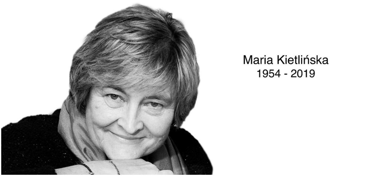 Zmarła nagle w rocznicę swojego ślubu. Nie żyje Maria Kietlińska