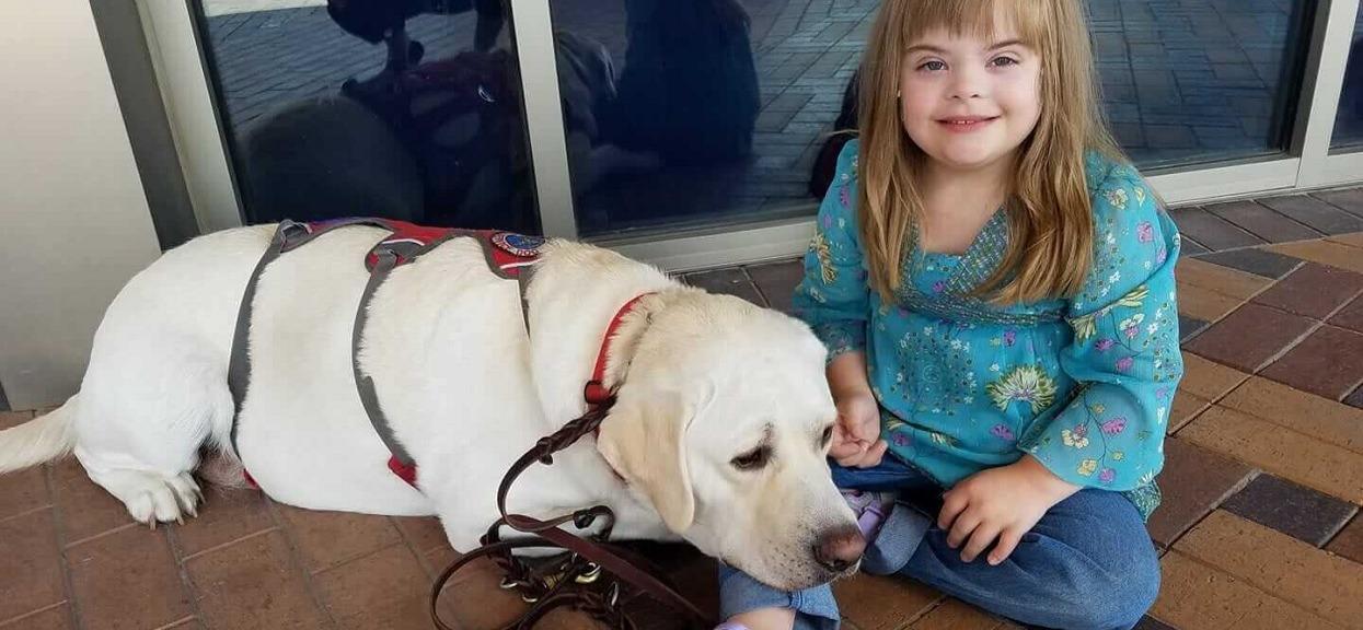 Pies pojął, że życie ich córki jest zagrożone. Natychmiast zaczął działać