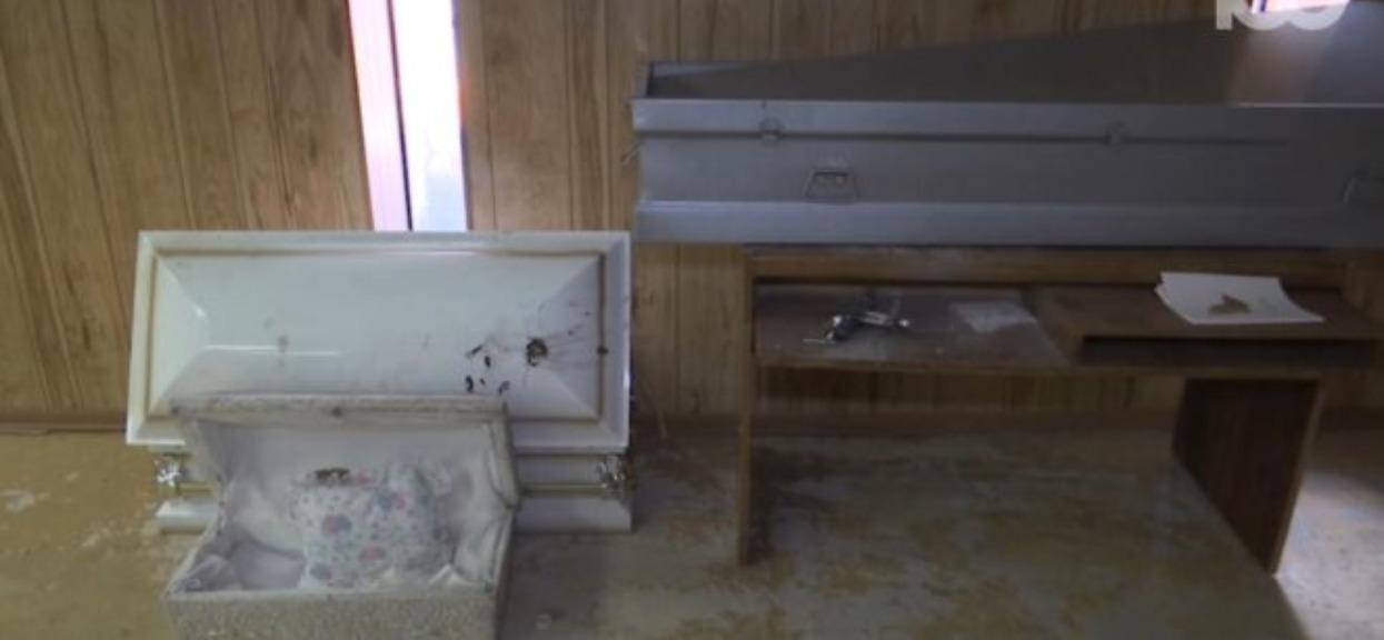 Kupił budynek po domu pogrzebowym. Służby natychmiast zaczęły działać, gdy ujawniono, co jest w środku