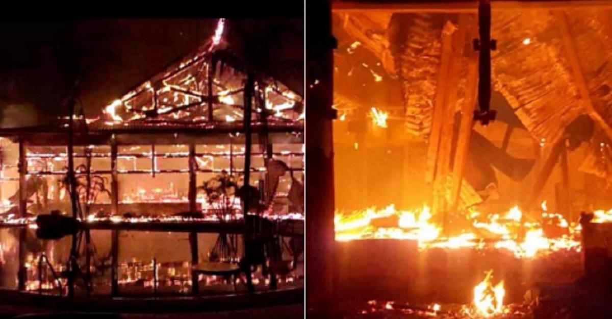 34 Polaków wybrało się na wymarzone wczasy za granicą. Niestety w hotelu wybuchł pożar