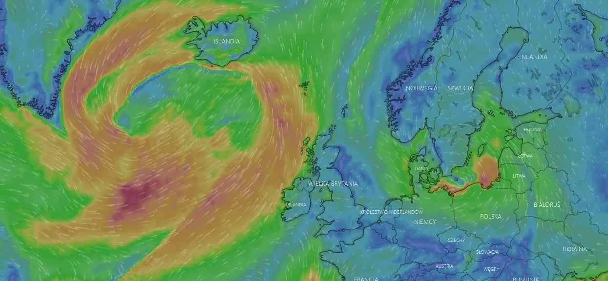 Były huragan Dorian zmierza w stronę Europy. Na jego trasie znajduje się również Polska