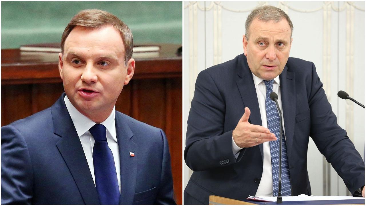 Sondaż zaufania do polityków. Andrzej Duda i Grzegorz Schetyna na dwóch końcach skali