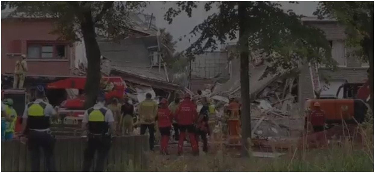 Potężny wybuch wstrząsnął mieszkańcami, zawaliło się kilka budynków. Napływają coraz to nowsze informacje o zagranicznej tragedii