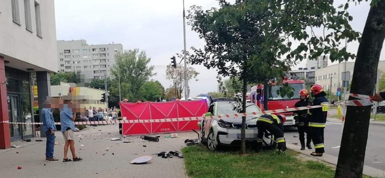 Podwójnie przygnębiające wieści z Warszawy. Gdy dowiedziała się, że jej córka nie żyje wyszła na balkon i niestety skoczyła