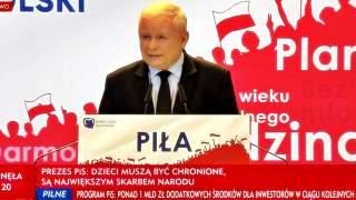 """Ostra deklaracja Jarosława Kaczyńskiego dotycząca homoseksualizmu. """"Nie będzie małżeństw, nie będzie adopcji dzieci"""""""