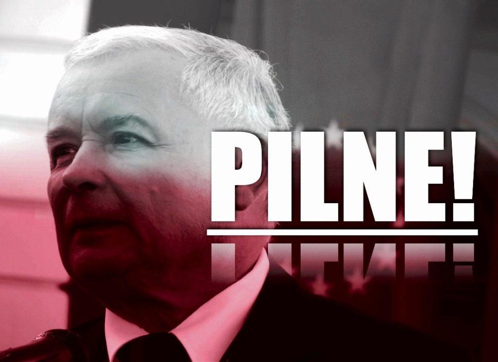Oświadczenie Jarosława Kaczyńskiego po ogłoszeniu wyników wyborów. Padły bardzo poważne słowa