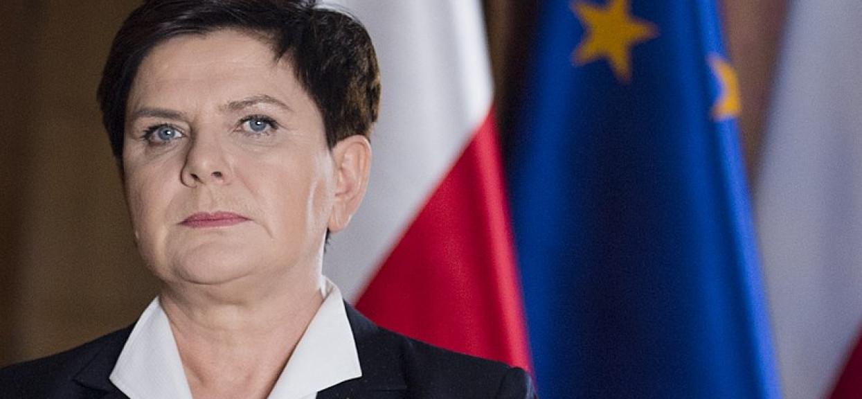 Beata Szydło ma powody do zmartwień