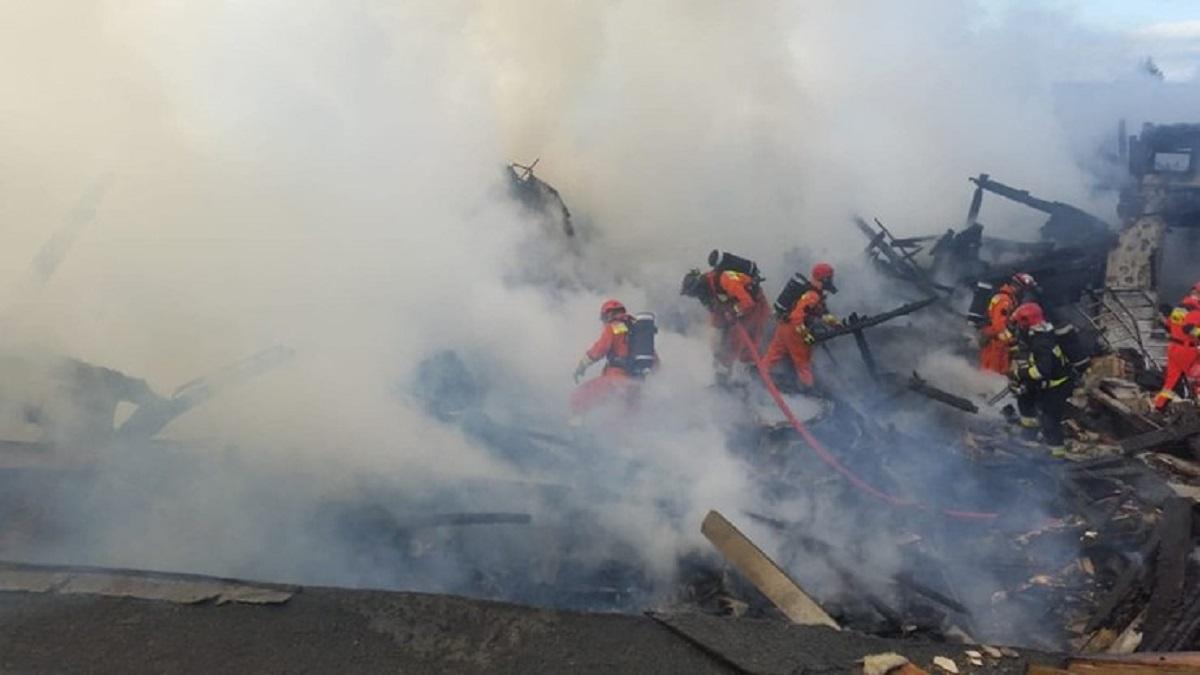Doszczętne zniszczenia po tragedii w centrum Polski. Pod gruzami znaleziono ciała, złe wiadomości