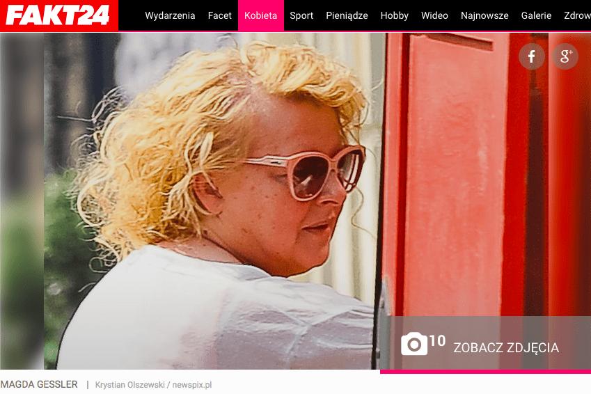 Magda Gessler Fakt24 Screenshot