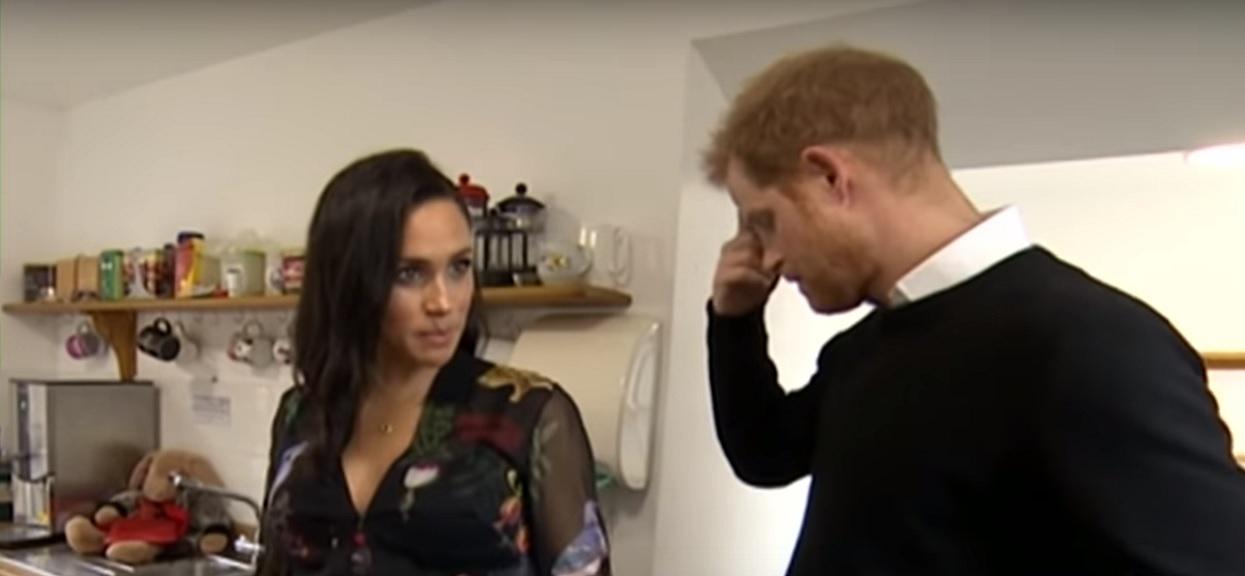 Książę Harry stracił kontrolę nad sobą i zaczął płakać podczas wystąpienia. Mówił o Meghan i synku