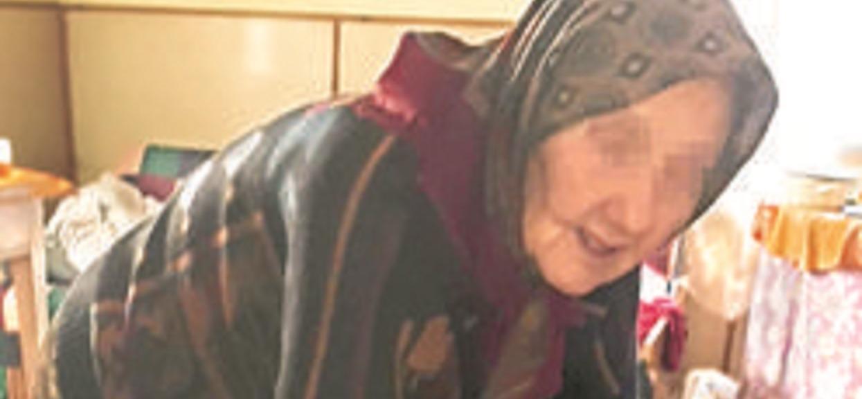 Dramat samotnej 94-letniej pani Zofii. Straciła wszystkie pieniądze, które odkładała na swój pogrzeb