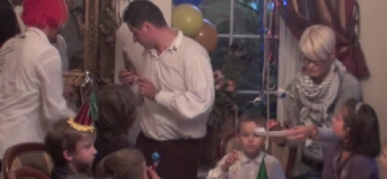 Michał Wiśniewski nagle wparował do pokoju syna i zaczął śpiewać. Nieznane publicznie nagranie sprzed lat rozkłada na łopatki