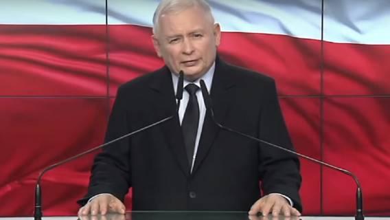Jarosław Kaczyński został pobity w wyborach