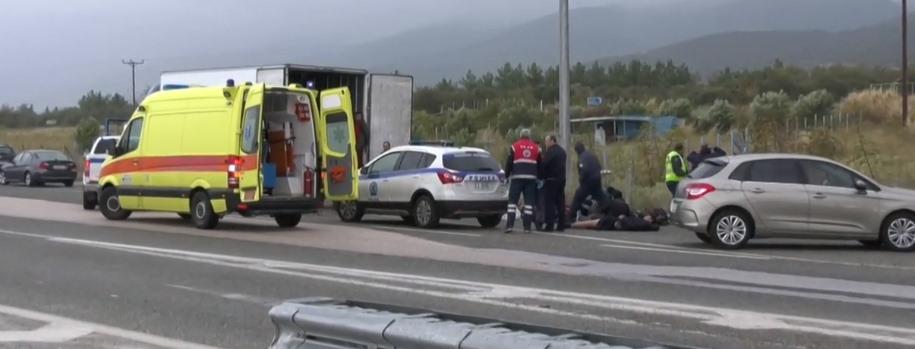 Policjanci zatrzymali do rutynowej kontroli kierowcę ciężarówki. Otworzyli chłodnię i aż ich ścięło z nóg
