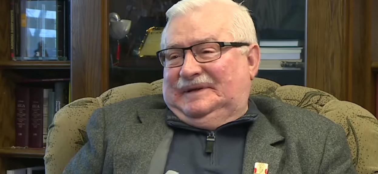 """Lech Wałęsa o kandydacie na prezydenta: """"Zawsze lepiej na niego niż na Kaczyńskiego"""""""