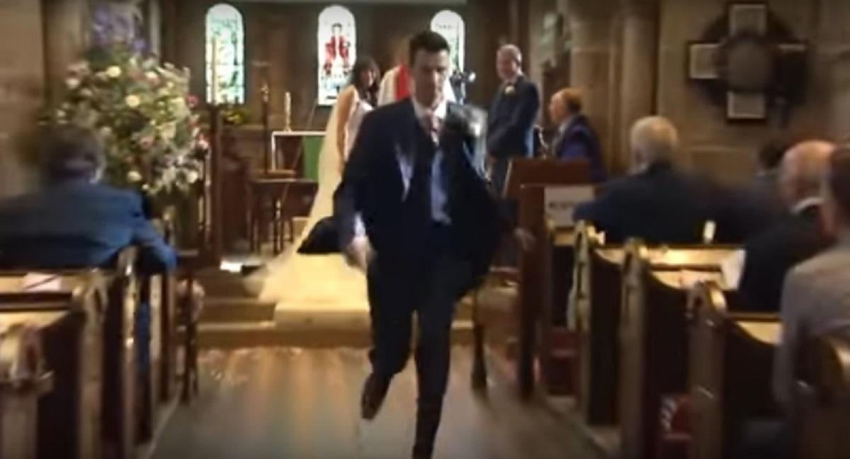 Para stała już na ślubnym kobiercu. Nagle pan młody wybiegł z kościoła, a powód odebrał wszystkim mowę