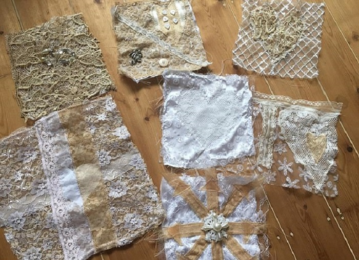 Uszyła suknię ślubną ze skrawków i odpadów. Kiedy zobaczyli ją na ślubie, wszystkim opadły szczęki do samej ziemi