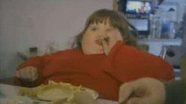 W wieku 8 lat ważyła ponad 180 kg, ledwo mogła się ruszać. Najgorsza jest reakcja matki, nie mieści się w głowie