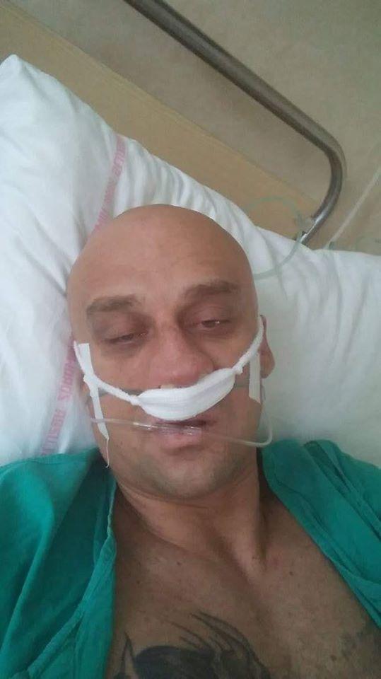 Gwiazdor disco-polo poważnie ranny