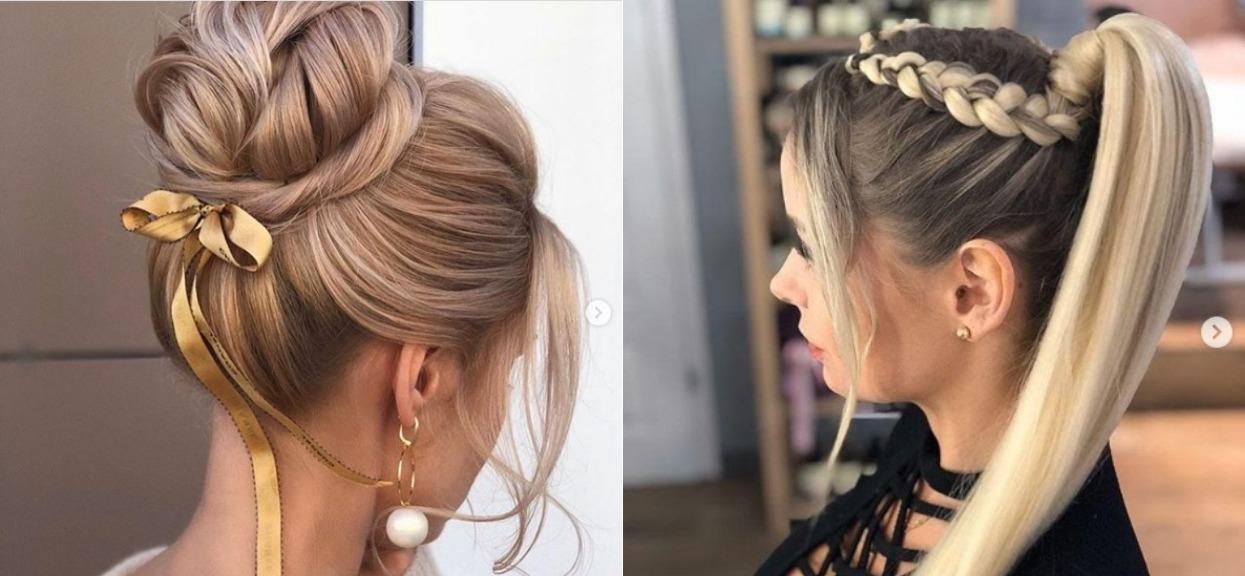 Włosy, najlepsze fryzury na Sylwestra