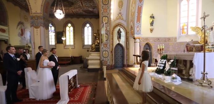 Nagranie ze ślubu polskiej pary stało się hitem na całym świecie. I nie bez powodu
