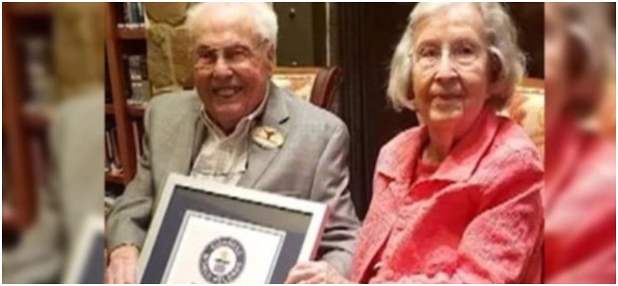 Są najstarszym małżeństwem na świecie. Niewiarygodne jak długo są ze sobą