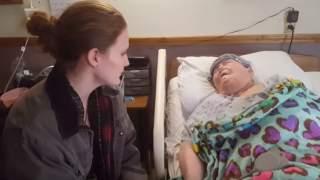 Pielęgniarka podeszła do umierającej pacjentki. Chwilę później wydarzyło się niebywałe, wszystko nagrała kamera