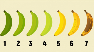 Którego banana wybierasz? Odpowiedź mówi wiele o twoim zdrowiu