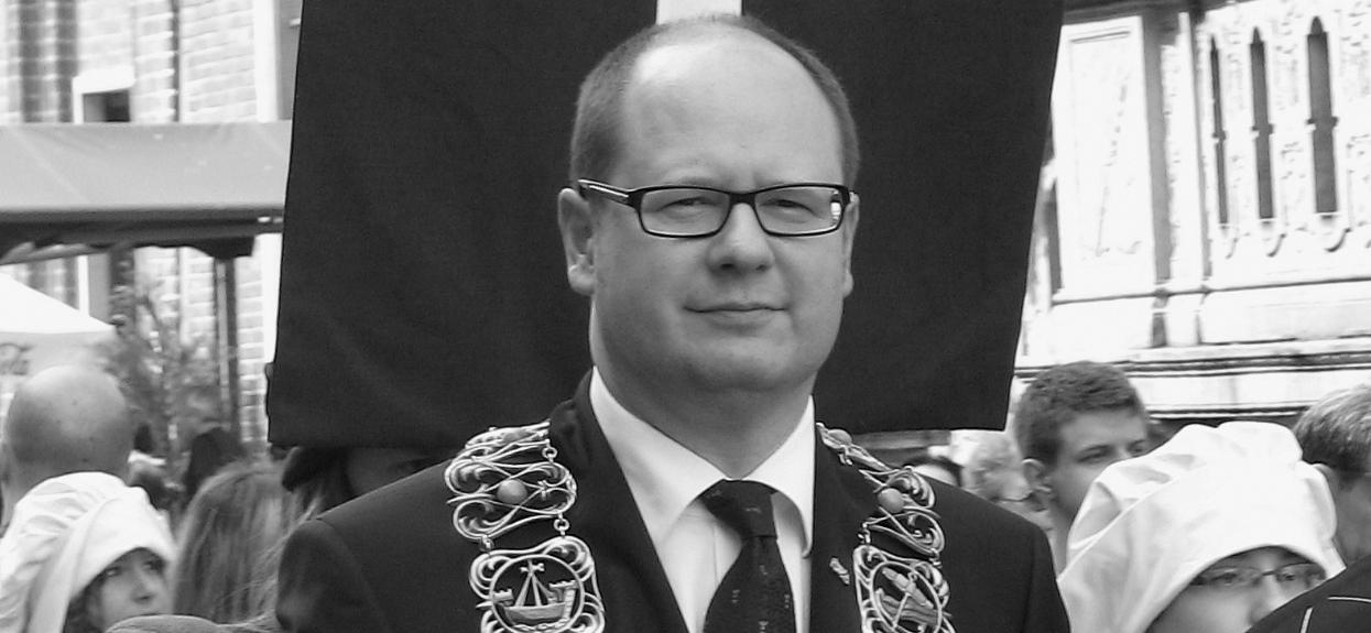 Paweł Adamowicz, grób