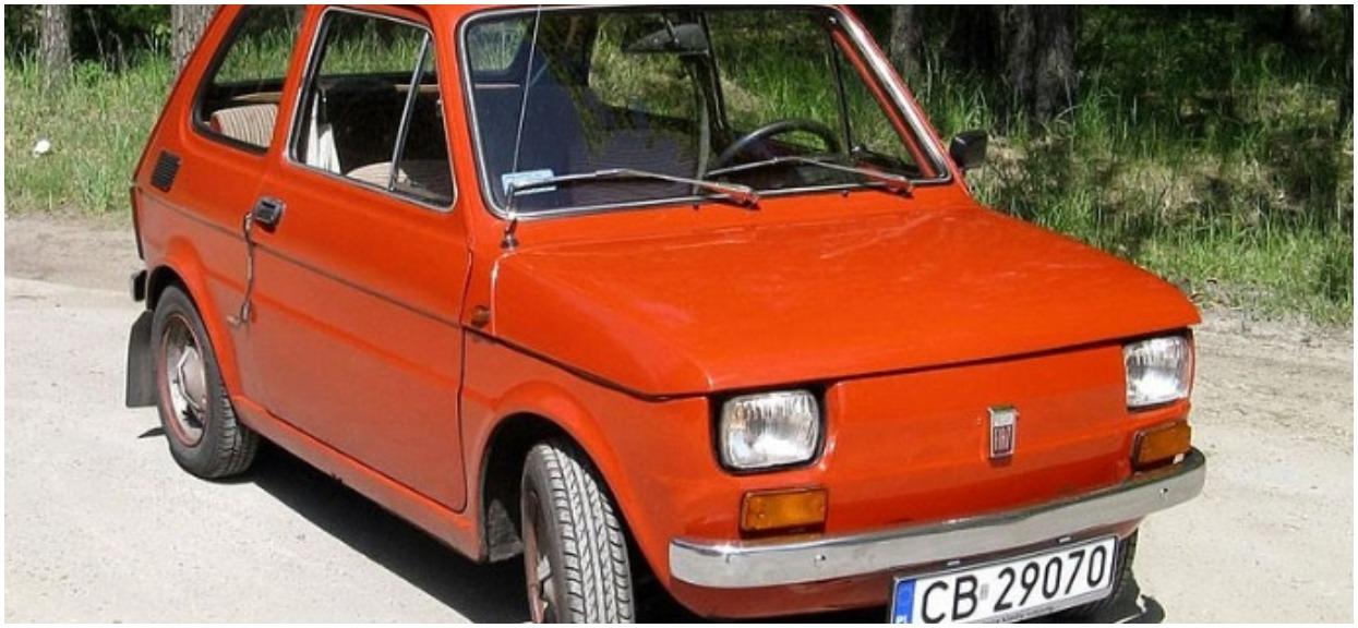 Polski Fiat 126p z lat 70. Kto jeździł kultowym autem?