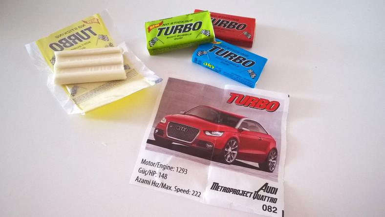 Niezapomniany smak. Pamiętacie gumę Turbo?