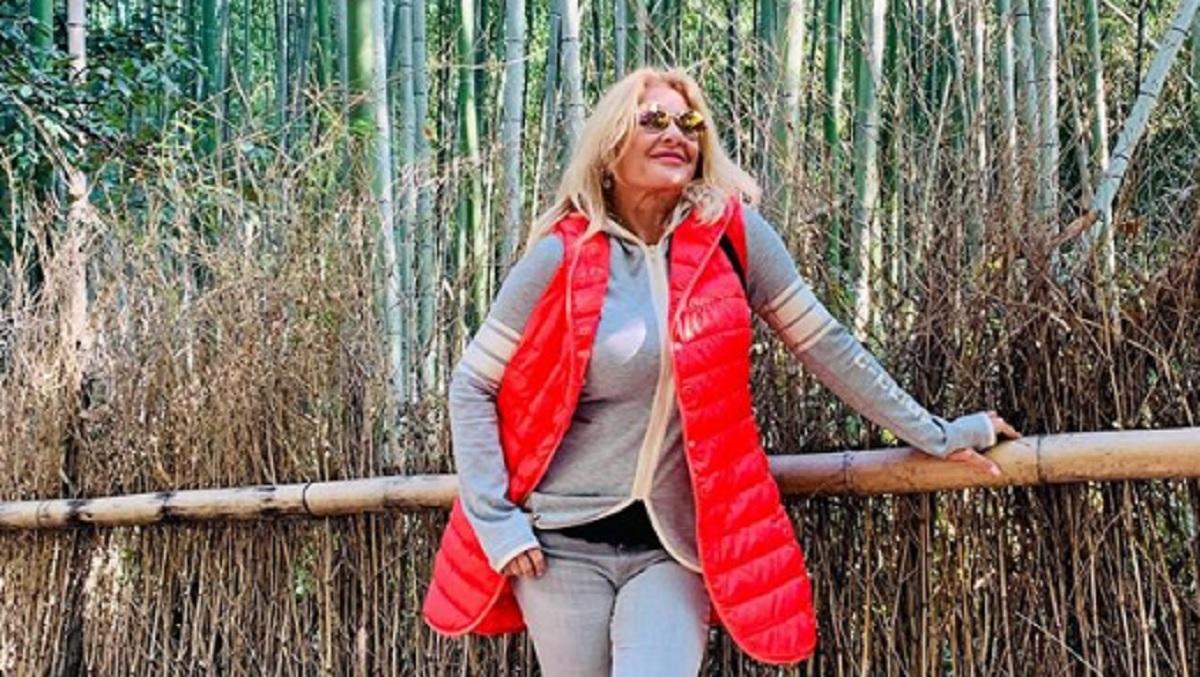 Gorące zdjęcie Majki Jeżowskiej w internecie. Widoku nie da się zapomnieć, wygląda na 59 lat?